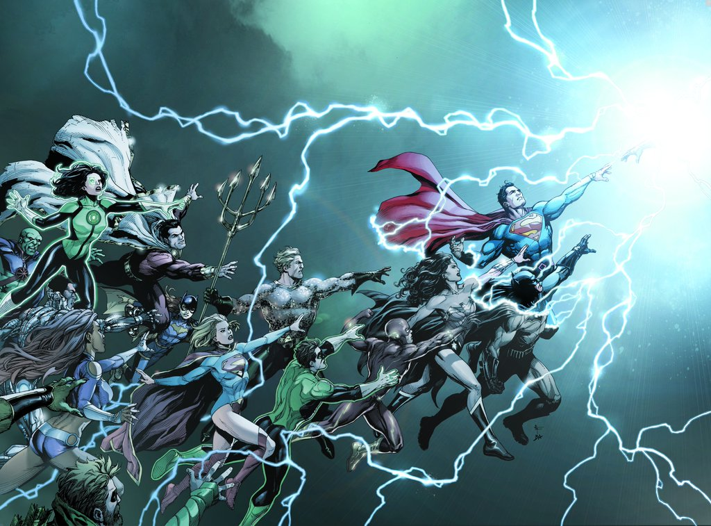 Updated Comic Guide: DC Rebirth