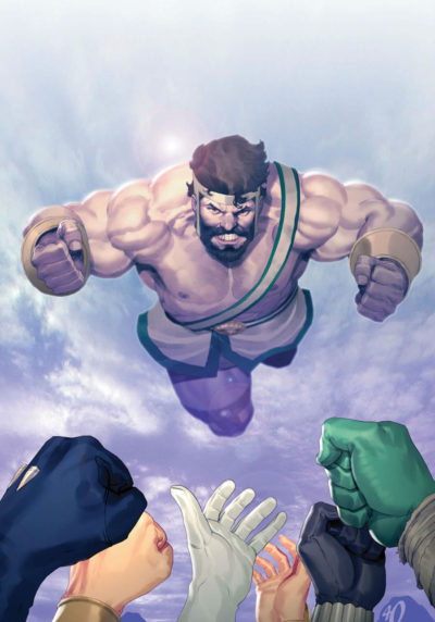 Hercules - Fall of an Avenger #2 (textless cover)