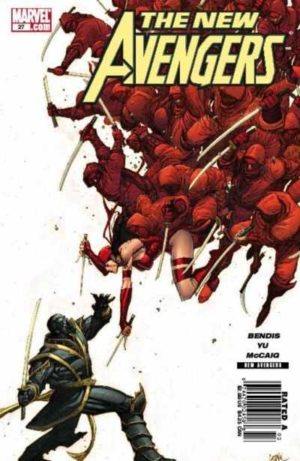 New Avengers Vol. 1 - 0027 - featuring Hawkeye as Ronin