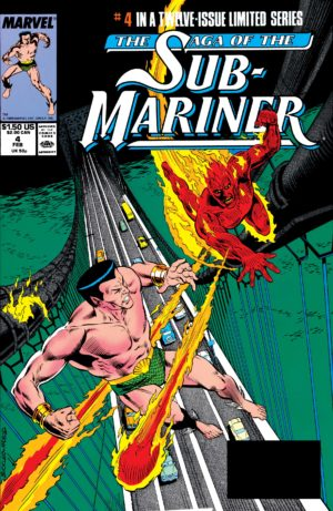 Saga of the Sub-Mariner (1988) #4