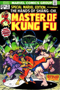 Shang-Chi's debut as the Master of Kung Fu in Special Marvel Edition Vol01 0015