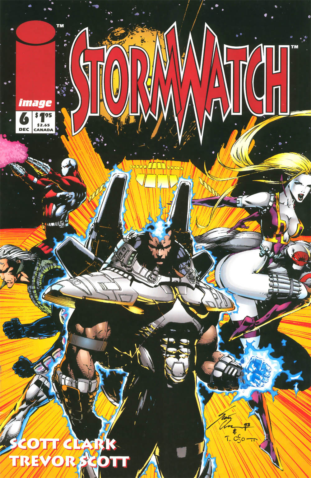 From The Beginning: WildStorm Universe - Stormwatch #6-8 ...