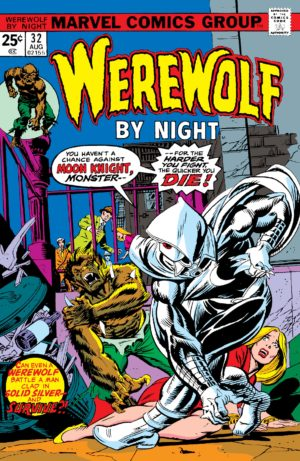 Moon Knight's debut in Werewolf by Night (1972) #32