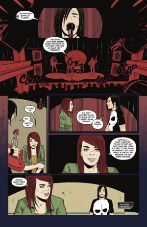 """A page """"Gravity,"""" a story in Frank Gogol's Grief OGN with art by Nenad Cviticanin."""