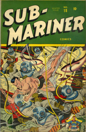 Sub-Mariner 0018, Namor's Golden Age title