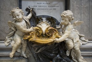 Hark, it is my first post about baby waste! Our baby is at least this chubby. Detail of the Cherubs Fountain at St Peter's Basilica or Basilica di San Pietro, Rome, Italy.