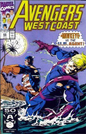 Avengers West Coast (1985) - 0069