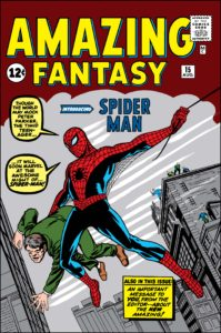 Spider-Man's debut in Amazing Fantasy #15