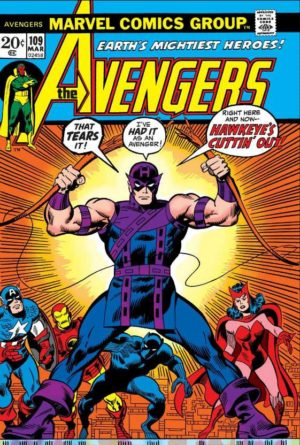 Avengers V1 - 0109 - Hawkeye quits...again!