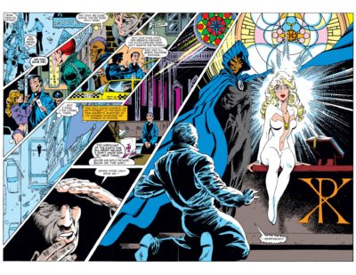 A splash page from Cloak & Dagger (1983) #1