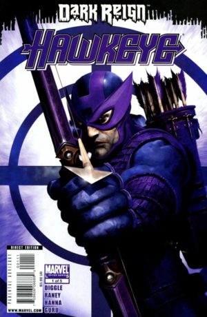 Dark Reign Hawkeye - 0001 - featuring Bullseye as Hawkeye