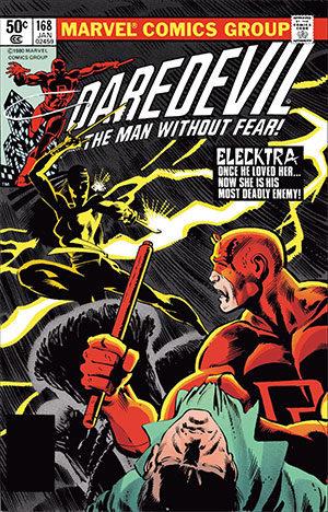 Elektra's debut in Daredevil (1964) #168