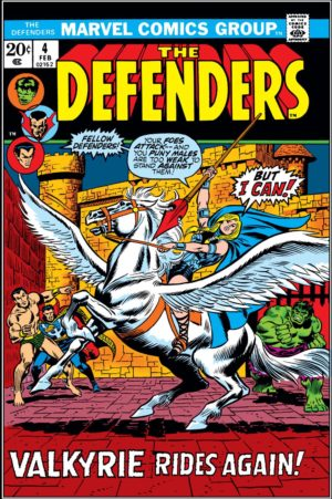 The Defenders (1972) #4