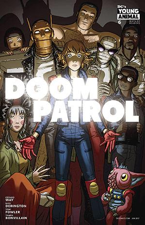 Doom Patrol (2016) #6