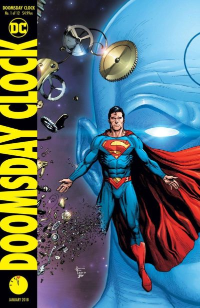 The Watchmen return in Doomsday Clock #1!