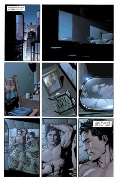 Clark & Lois's apartment in Doomsday Clock