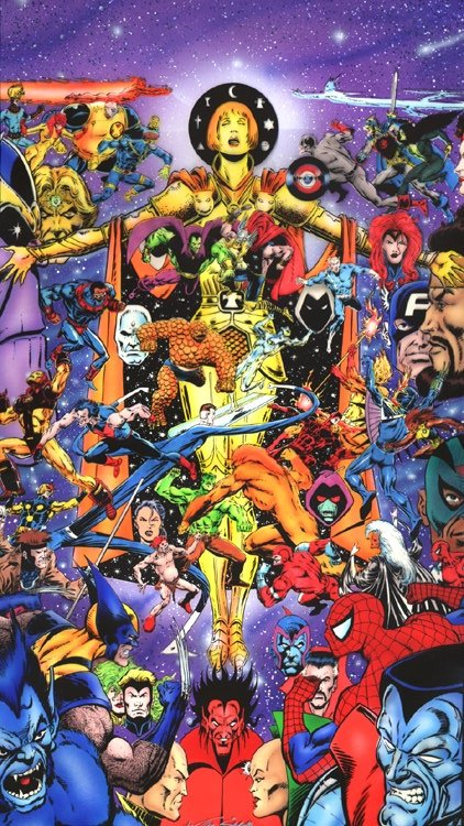 Collecting Marvel Universe Events as graphic novels