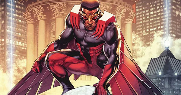 New For Patrons: The Definitive Guide to Marvel's Falcon (and, sometimes,  Captain America), Sam Wilson - Crushing Krisis