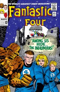 The Inhumans debut in Fantastic-Four-1961-0045