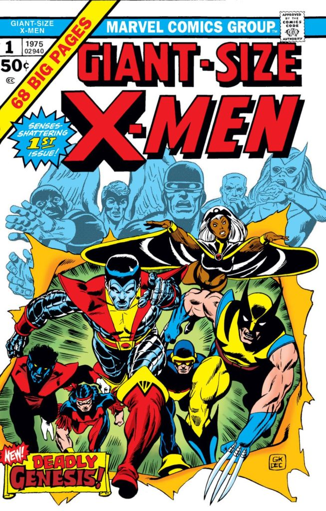 Giant-Size X-Men #1 from 1975, a key issue in the X-Men Reading Order!