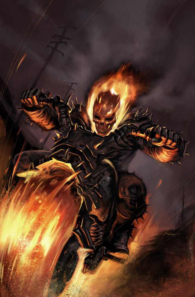 Collecting Ghost Rider Comic Books As Graphic Novels -9901