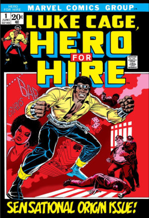 Luke Cage - Hero For Hire 0001