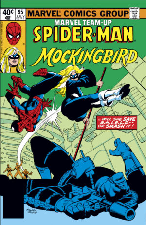 Marvel Team-Up v01 - 0095 - Bobbi Morse's first appearance Mockingbird