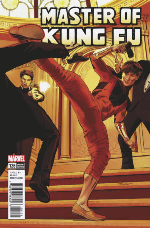 Shang-Chi returns in this variant cover of Master Of Kung-Fu #126