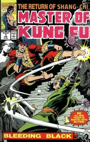 Shang-Chi in Master of Kung Fu: Bleeding Black Vol01 0001