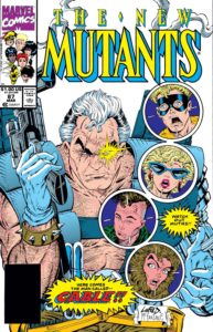 Cables full debut in New Mutants #87