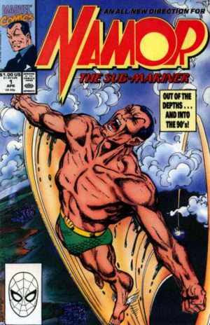 Namor, The Sub-Mariner 0001 by John Byrne