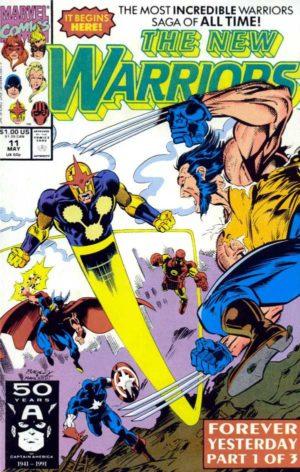 Nova in New Warriors (1989) #11