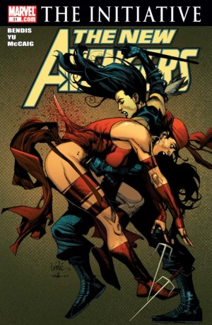 Elektra in New Avengers #31 (or, is it?)