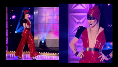 RPDRAS S02E02 Detox Runway Split Screen