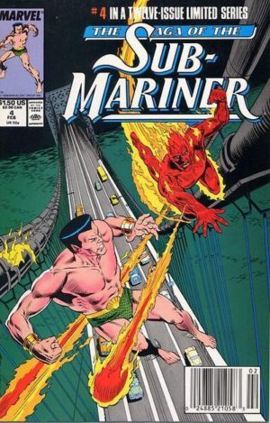 Namor in the recap series The Saga of the Sub-Mariner 0004