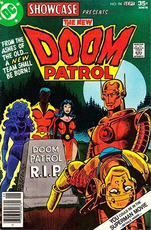 The New Doom Patrol in Showcase (1956) #94