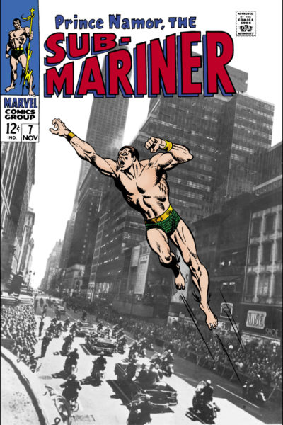Namor, The Sub-Mariner 1968 0007