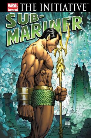 Namor in Sub-Mariner (2007) #6