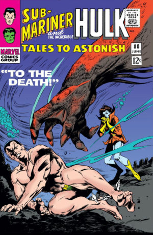 Namor in Tales to Astonish - 0080