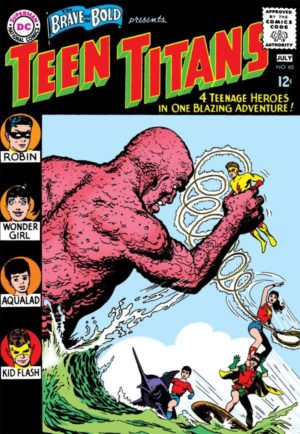 "The first ""Teen Titans"" in The Brave and The Bold (1955) #60"
