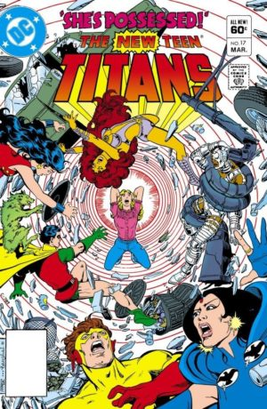 The New Teen Titans (1980) #17