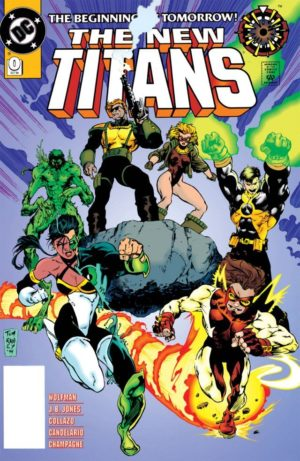 The New Titans (1988) #0