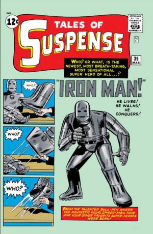 Iron Man's debut in Tales of Suspense (1959) #39