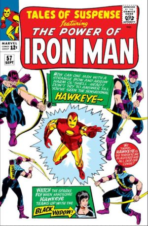 Tales of Suspense - 0057 - Hawkeye's debut