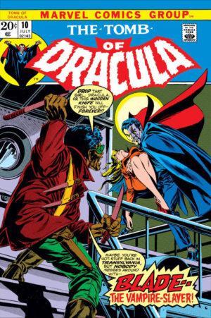 Blade's debut in Tomb of Dracula (1972) #10