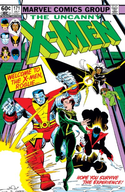 Rogue joins the team in Uncanny X-Men (1963) #171