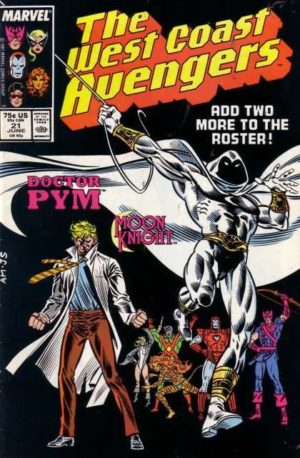 Moon Knight in West Coast Avengers (1985) #21
