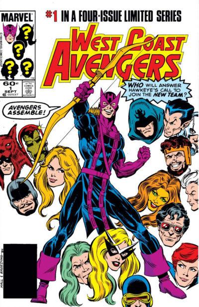 West Coast Avengers (1984) - 0001