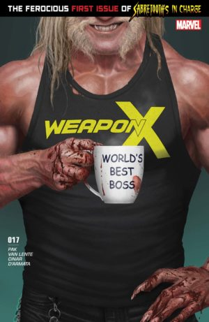 Sabretooth takes charge in Weapon X (2017) #17