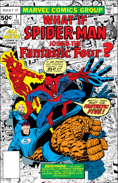 What_If_1977_0001_Spider-Man_joined_Fantastic_Four